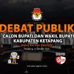 Siaran Tunda Debat Publik Paslon Bupati dan Wakil Bupati Ketapang 2020