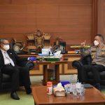 Asops Kapolri Irjen Pol Imam Sugianto Sambangi Gubernur Kalbar