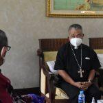 Uskup Agung Pontianak Apresiasi Respon Gubernur Sutarmidji Sikapi Aksi Unras Formasi Guru
