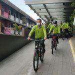 Wali Kota Pontianak Gowes Bareng Apeksi Hijaukan Pontianak