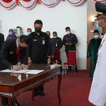 Bupati Kapuas Hulu Rotasi dan Promosi Jabatan 243 Pejabat
