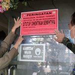 Wisma Nusantara Disegel Pemkot Pontianak, Disinyalir Sering Membiarkan Prostitusi Anak