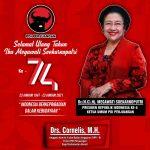 Ultah Ke-74 Ketum PDIP Megawati Soekarnoputri, Cornelis: Tetap Berikan yang Terbaik untuk Bangsa