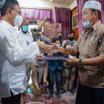 Pemkot dan Jasa Raharja Sampaikan Santunan Korban Tragedi Sriwijaya Air