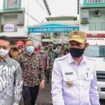 Sidak Dua Pasar di Pontianak, Sutarmidji: Gunakan Masker Cegah Penularan COVID-19