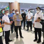 Menhub dan Ketua Komis V DPR RI Tinjau progres Runway Bandara Supadio Pontianak
