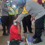 Masih Pandemi, Patroli Polres Ketapang Tekankan Masyarakat Disiplin Prokes
