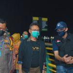 Pengunjung Waterfront Wajib Pakai Masker