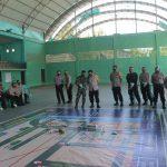 Konsentrasi Pengamana Pilkada, Polri-TNI Giat Tactical Floor Game