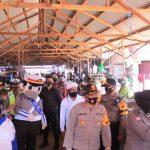 Badut Polantas Kampanyekan Wajib Pakai Masker di Ketapang
