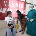 Vaksinasi Massal di Kabupaten Landak Sudah Capai 10 Persen