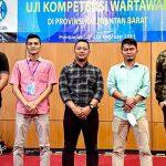 Uji Kompetensi Wartawan Kalbar, 5 Wartawan Ketapang Dinyatakan Kompeten