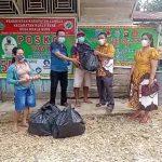 Terkonfirmasi Covid-19, Camat Kuala Behe: 53 Warga Dusun Nyawan Terima Bantuan dari Bupati Landak