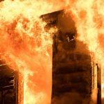 Rumah Sakit Khusus Covid-19 Terbakar, 50 Orang Tewas